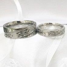 沖縄ミンサー柄結婚指輪むすび3