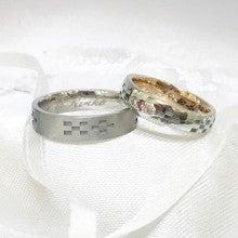 沖縄ミンサー柄結婚指輪むすび2
