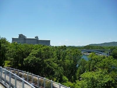 志摩観光ホテルが見える