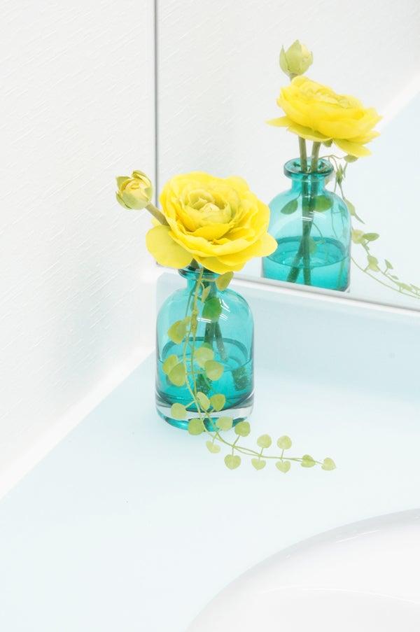 お手洗いに飾る造花