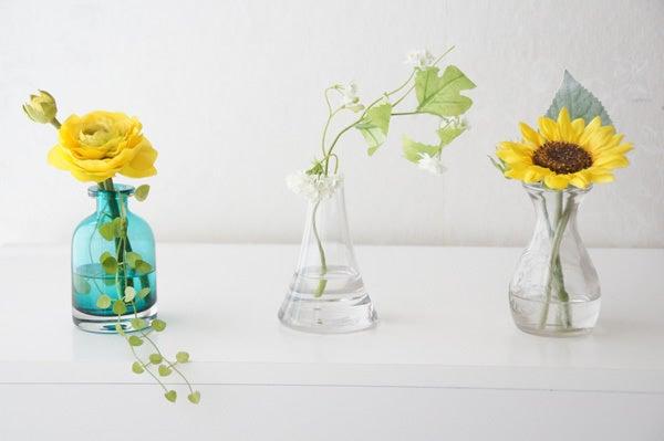 トイレに飾る造花
