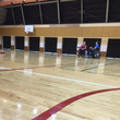 帝京科学大学の体育館…
