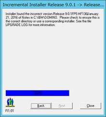 Domino 9.0.1 FP6 Install