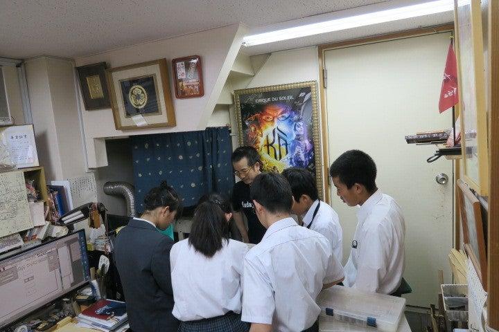 宮城県からの修学旅行生