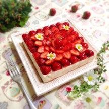 苺づくしのレアチーズ…