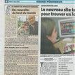 フランスの新聞に載っ…