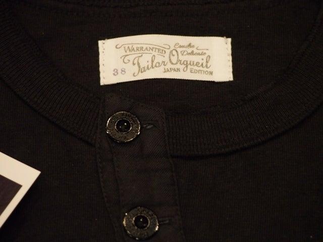 オルゲイユ ヘンリー Tシャツ