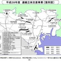 東京都・連続立体交差…
