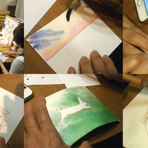 楽しく描く水彩画講座…