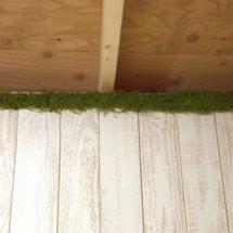 羊毛小屋の内装