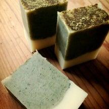 よもぎと桑の葉石鹸