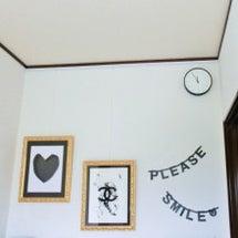 玄関に時計