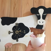 高秀牧場さん ミルク…