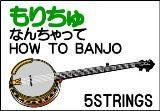 もりちゅ なんちゃってHOW TO BANJO