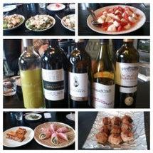 「うなぎ料理とワイン…