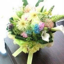 「お疲れ様」のお花☆
