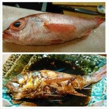 赤むつの煮魚