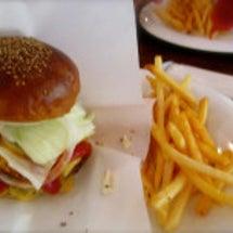ハンバーガー♪