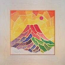 村上豊「彩賀なる吉祥の赤富士」
