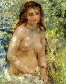 ルノワール 陽光の中の裸婦