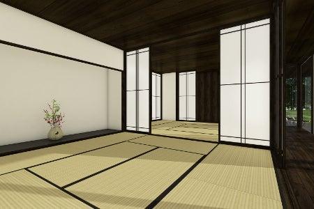 和室~真鶴Tさんの家