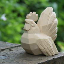 新商品 こころの木彫…
