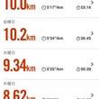 10キロRUN!2日…