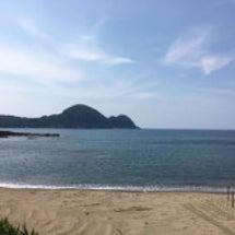 青井浜ワンワンビーチ…