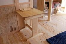 サイズオーダーひのきベンチテーブル