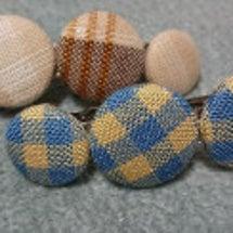 手織り生地で❗