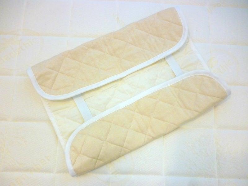 リネンニット枕パッド3
