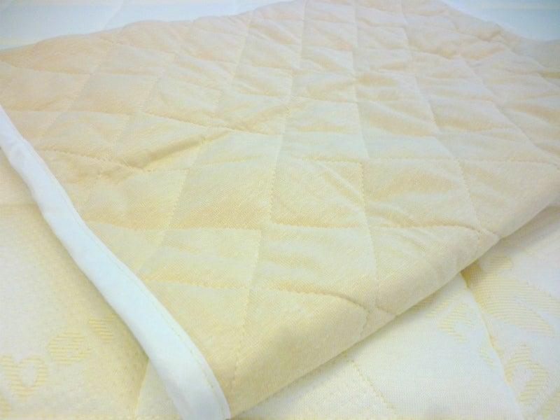 リネンニット枕パッド4