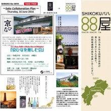 SHIKOKUバル88屋京ひなを楽しむ会チラシ