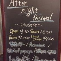 ライブ日記〜Afte…