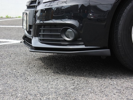 アウディA4 フロントリップスポイラー
