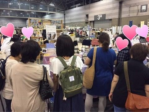 名古屋クリマ・お財布ショルダー専門店ラベンダーサシェのブース