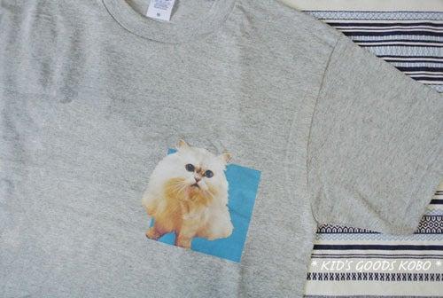 ペットの写真でつくるTシャツ