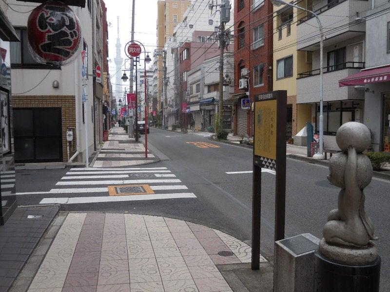 松葉町合羽橋からスカイツリー