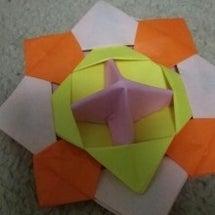 折り紙。こま。