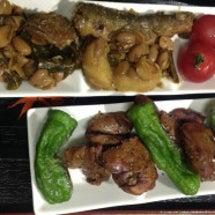 甘露煮鮎の煮豆 & …
