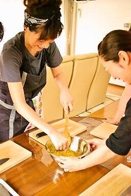 柏オーガニック料理教室 かぼちゃペースト