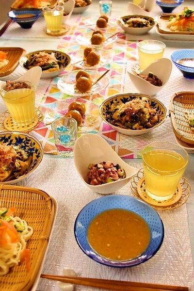 柏オーガニック料理教室 夏のさっぱり和食