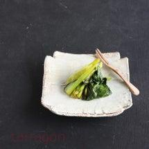 小松菜でまるで野沢菜…