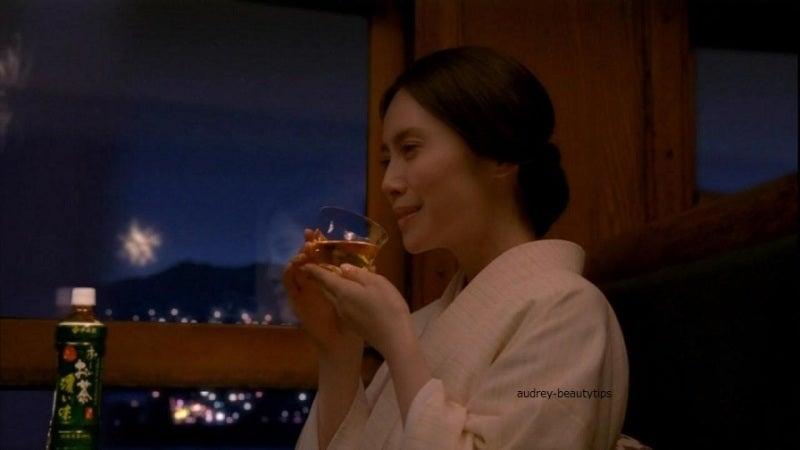中谷美紀 お~いお茶