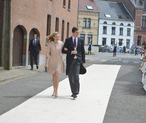Prince and Princess Amedeo of Belgium,