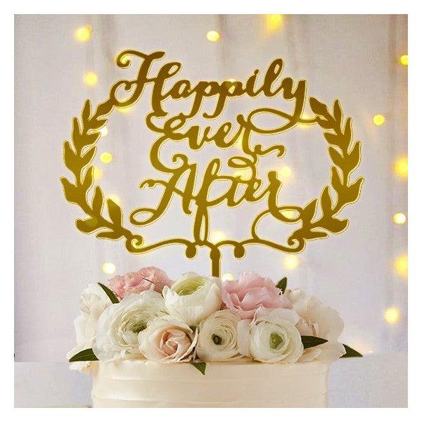 ケーキトッパー結婚式