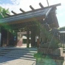 札幌 護国神社と誓…