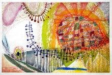 『マイ・マイ』木版画2009 700