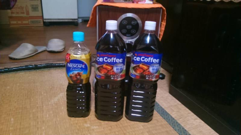 ネスレ&ポッカアイスコーヒー