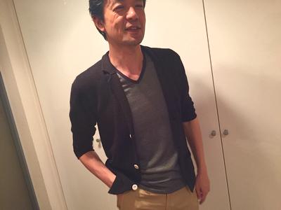 吹田 男性 コーディネート3